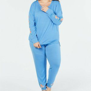 Jenni Intimates Soft Knit Hacci Pajama Set 889